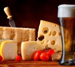 Сыр и пиво – идеальные сочетания