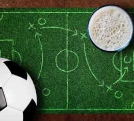 20 фактов о пиве и футболе